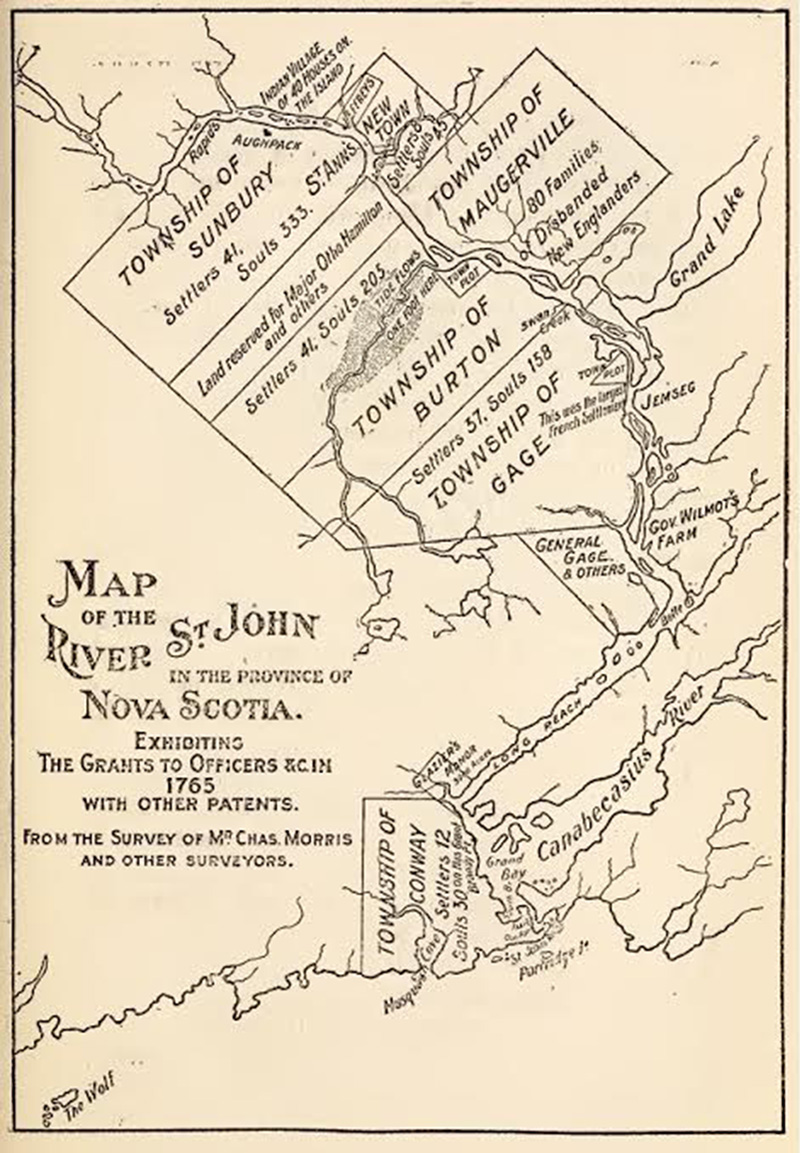 Rev. Wm. O. Raymond. 1910. The River St. John Its Physical Features Legends and History from 1604 to 1784. The Strathmore Press: John A. Bowes, St. John.