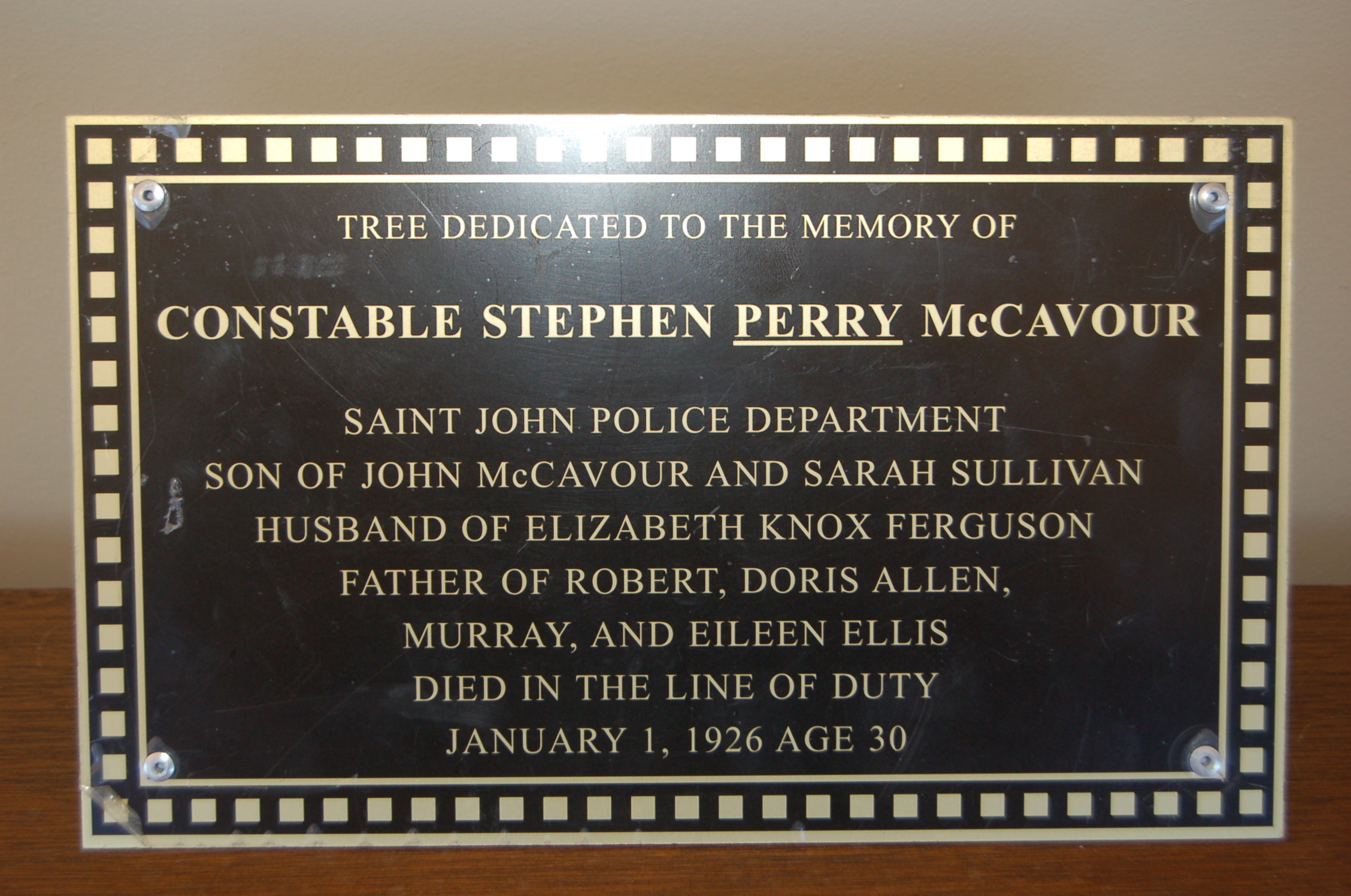 Memorial Policeman