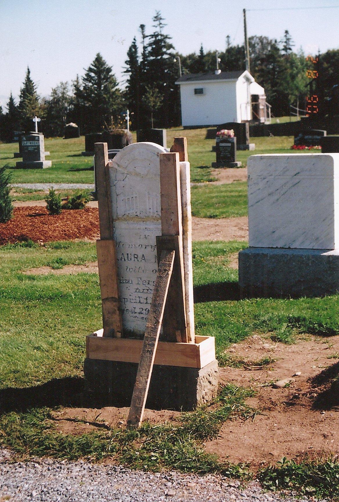 gravestone repairs 1