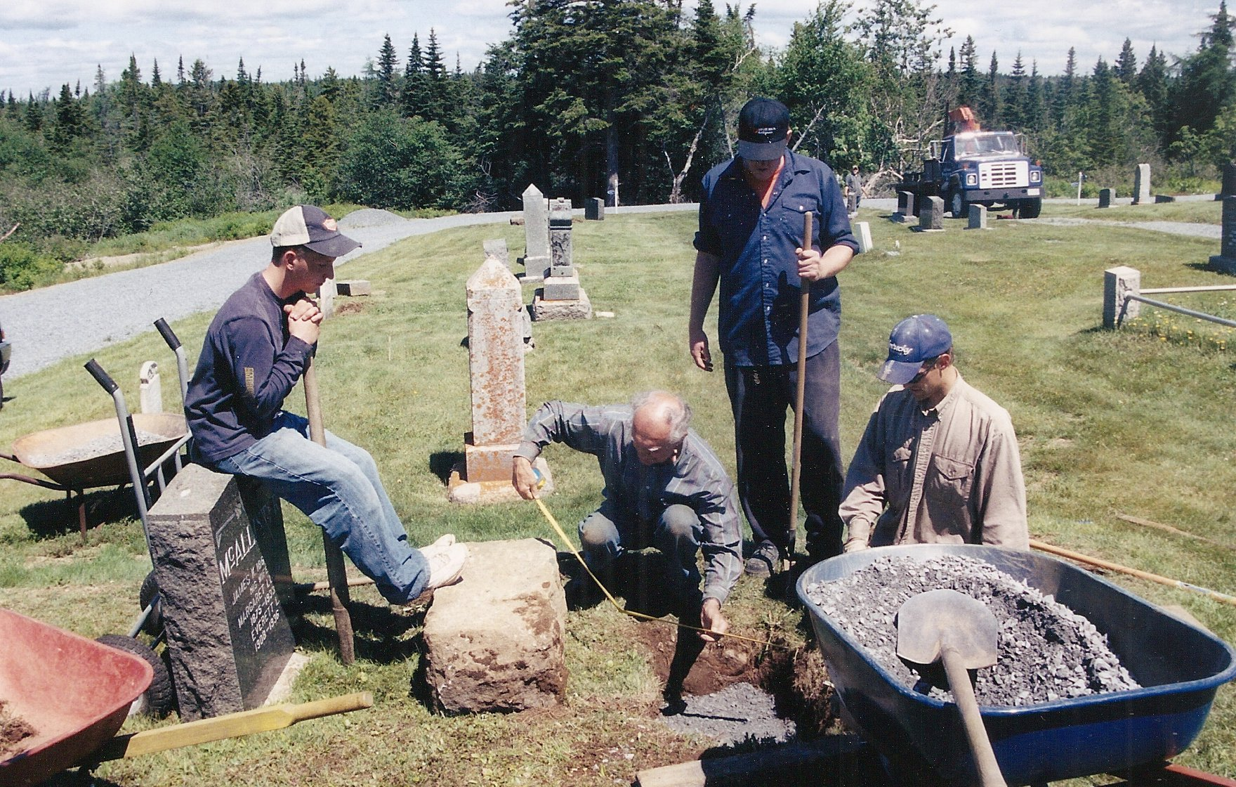 gravestone repairs 5b