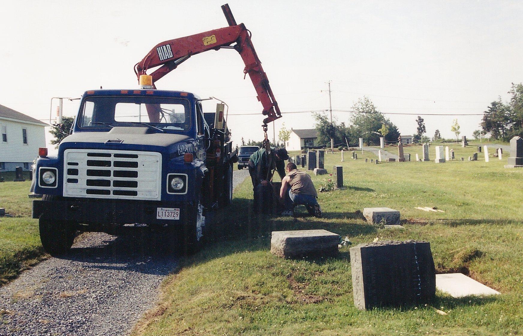 gravestone repairs 6