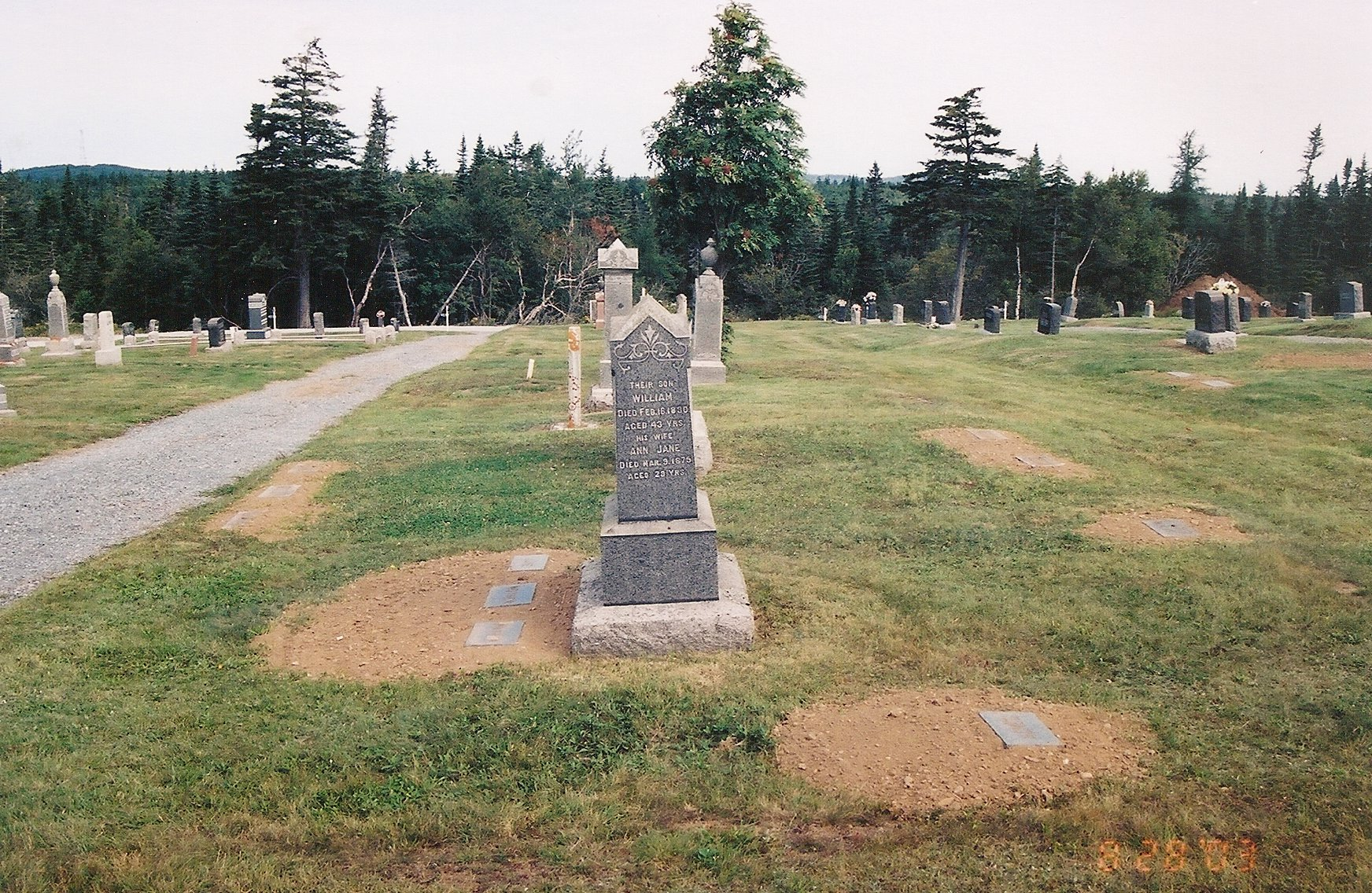 gravestone repairs footstones2